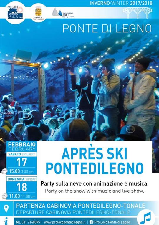 Party sulla Neve a Ponte di Legno