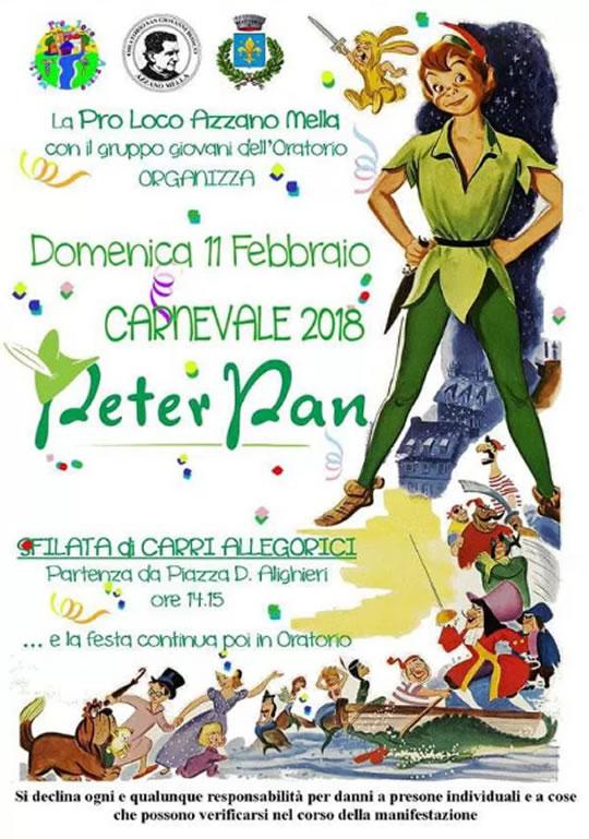 Peter Pan ad Azzano Mella