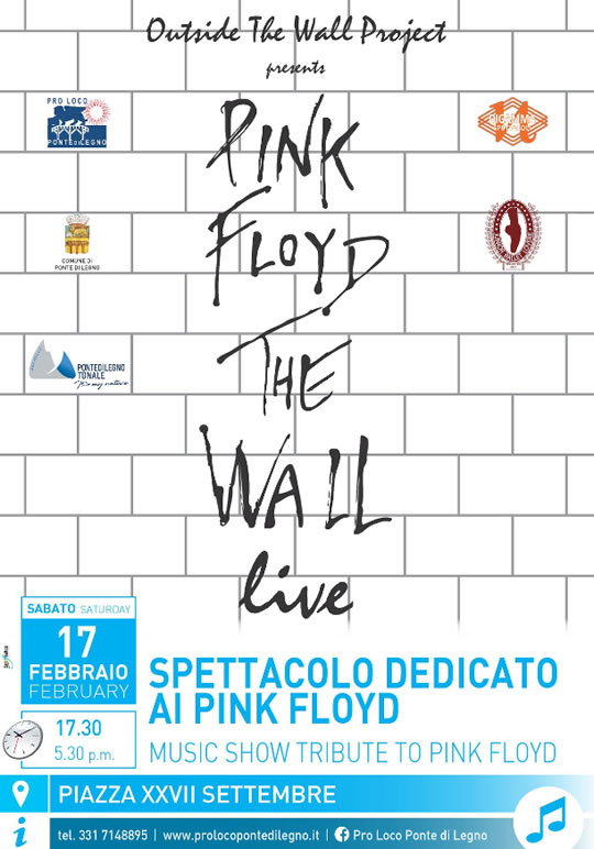 Pink Floyd The Wall Live a Ponte di Legno