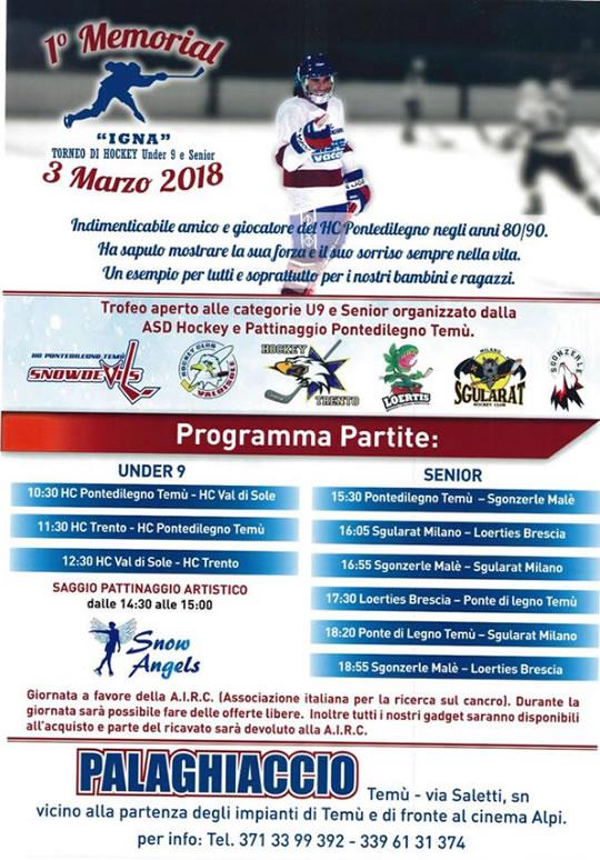 Torneo di Hockey a Temù