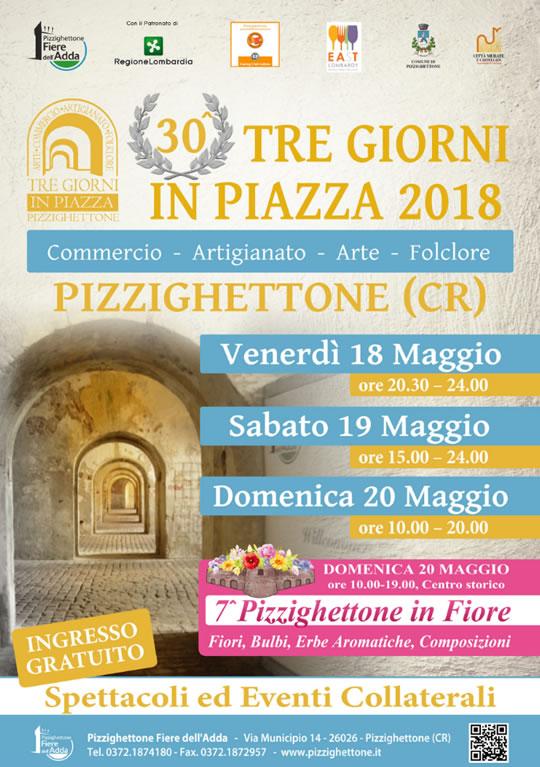 30^ Tre Giorni in Piazza a Pizzighettone CR