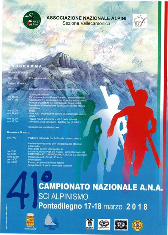 41 Campionato Nazionale Sci Alpinismo a Ponte di Legno