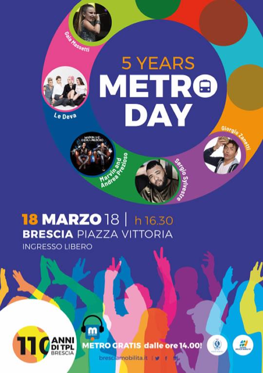 5 Metro Day a Brescia