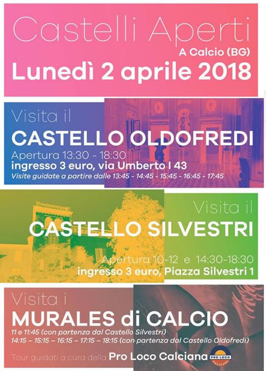 Castelli Aperti a Calcio (BG)