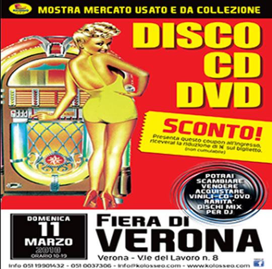 Disco CD DVD a Verona