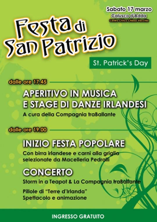 Festa di San Patrizio a Calusco d'Adda