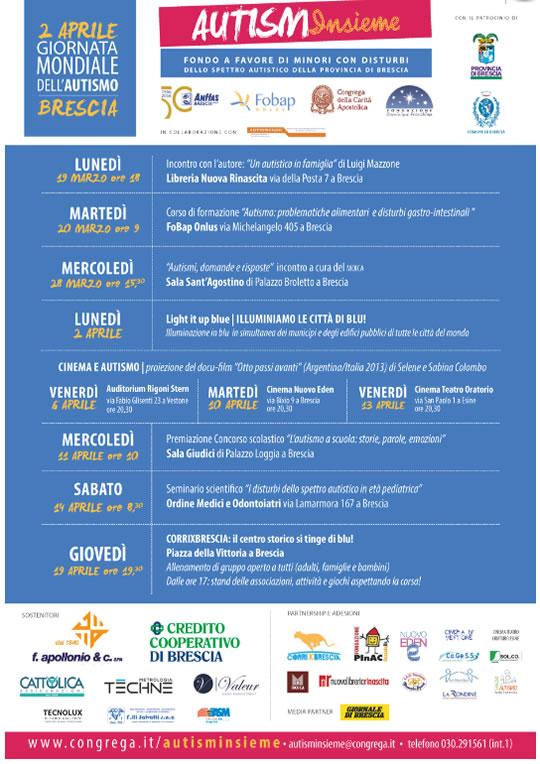 Giornata Mondiale dell'Autismo a Brescia