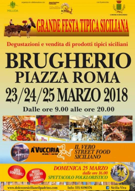 Grande Festa Tipica Siciliana a Brrugherio