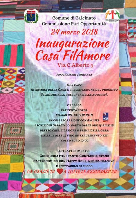 Inaugurazione Casa FilAmore a Calcinato