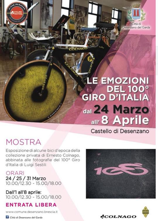 Le Emozioni del 100 Giro d'Italia a Desenzano