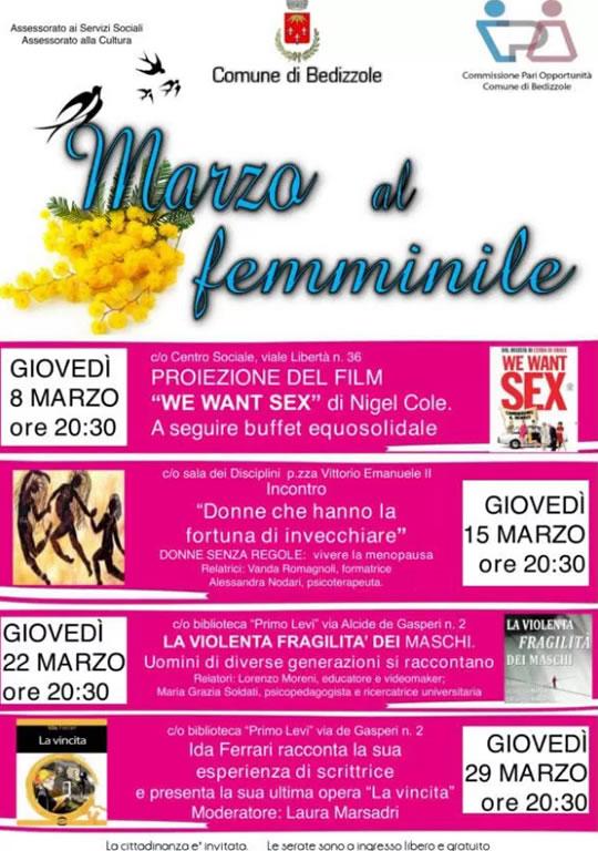 Marzo al Femminile a Bedizzole