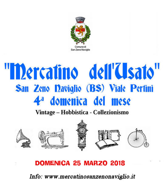 Mercatino dell'Usato a San Zeno