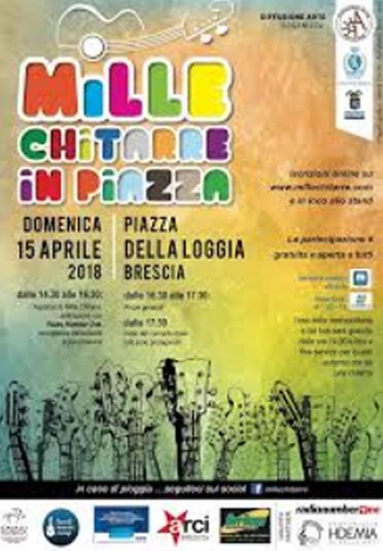 Mille Chitarre in Piazza a Brescia
