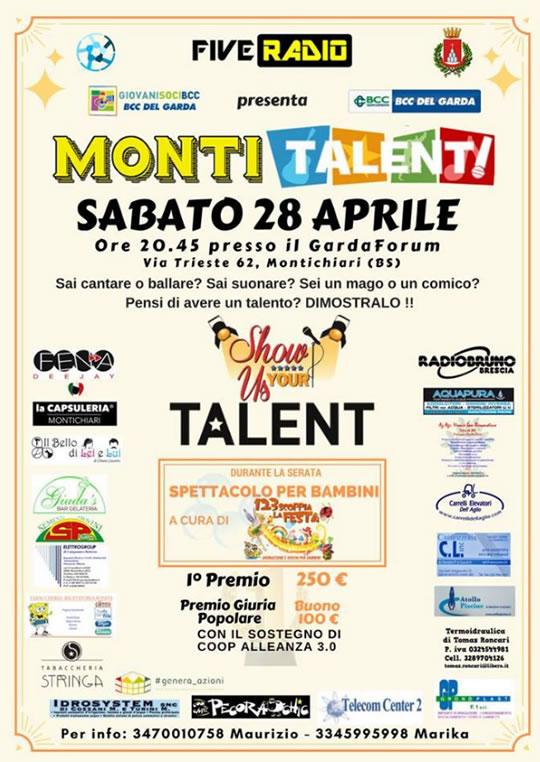 Monti Talent a Montichiari