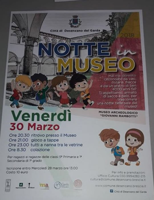 Notte in Museo a Desenzano