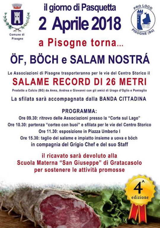 Of, Boch e Salam Nostrà a Pisogne