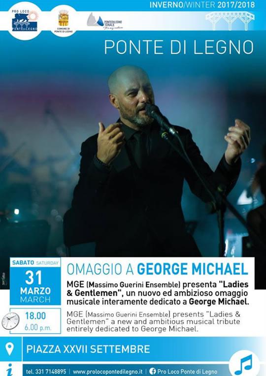 Omaggio a George Michael a Ponte di Legno