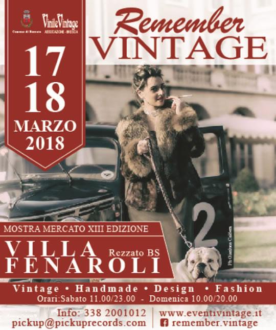 Remember Vintage a Rezzato