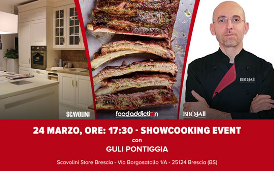 Showcooking event a Brescia