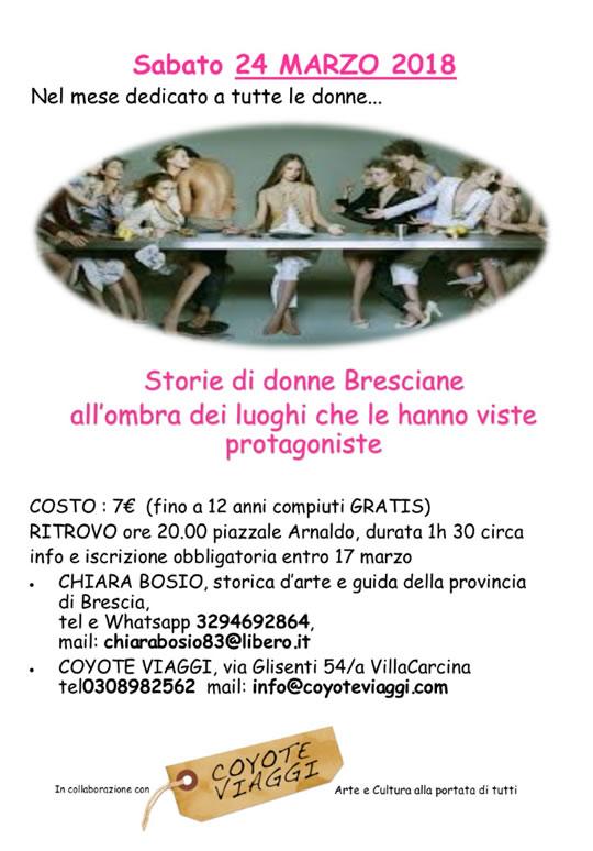 Storie di Donne Bresciane a Brescia