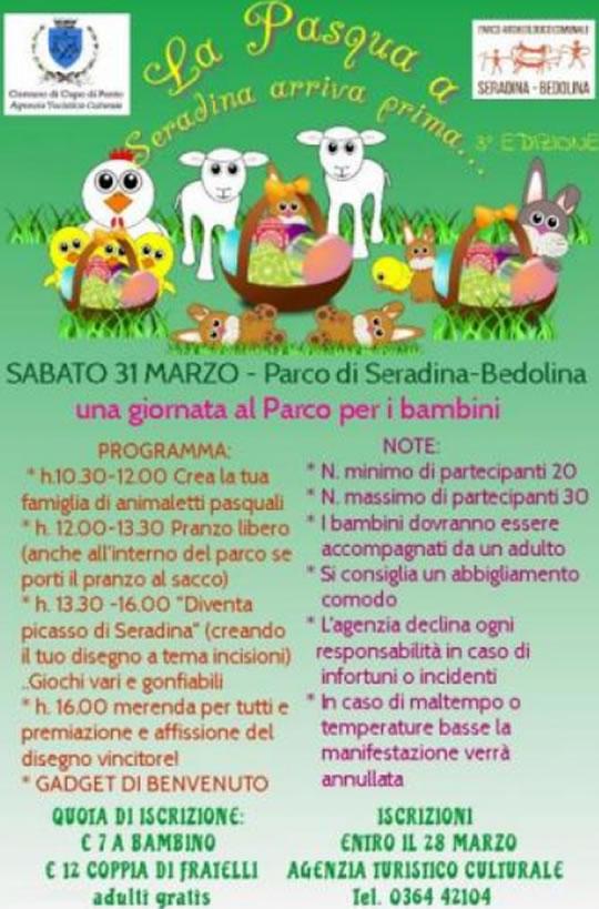 Una giornata al Parco per i bambini a Capo di Ponte