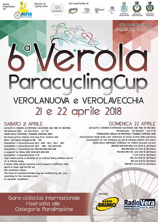 6 Verola ParacyclingCup