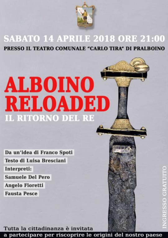 Alboino Reloaded: il ritorno del re a Pralboino