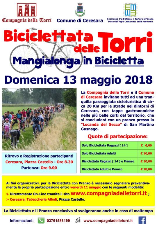 Biciclettata delle Torri - Mangialonga in Bicicletta a Ceresara