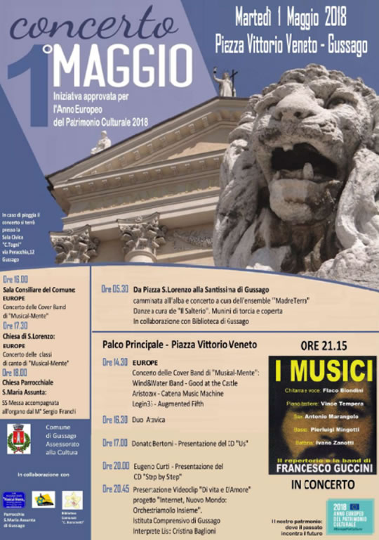 Concerto 1° Maggio a Gussago