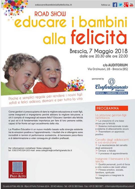 Educare i Bambini alla Felicità a Brescia