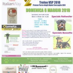 Expo di bellezza amatoriale canina a Coccaglio