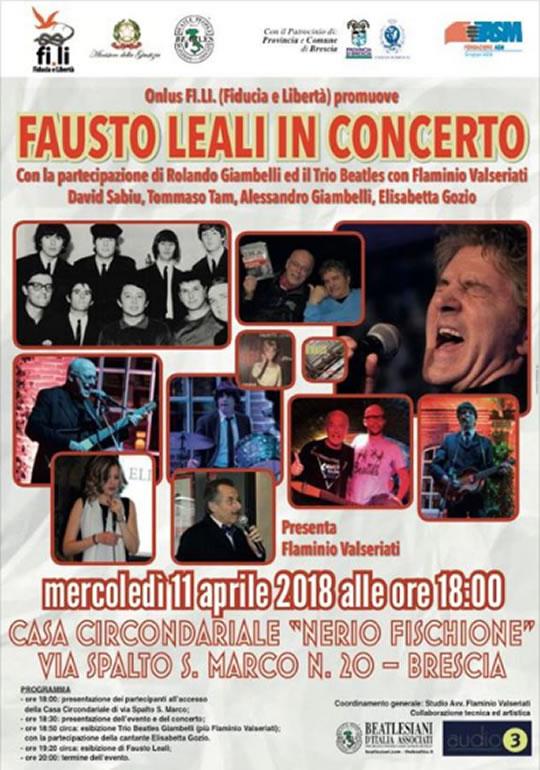 Fausto Leali in Concerto a Brescia