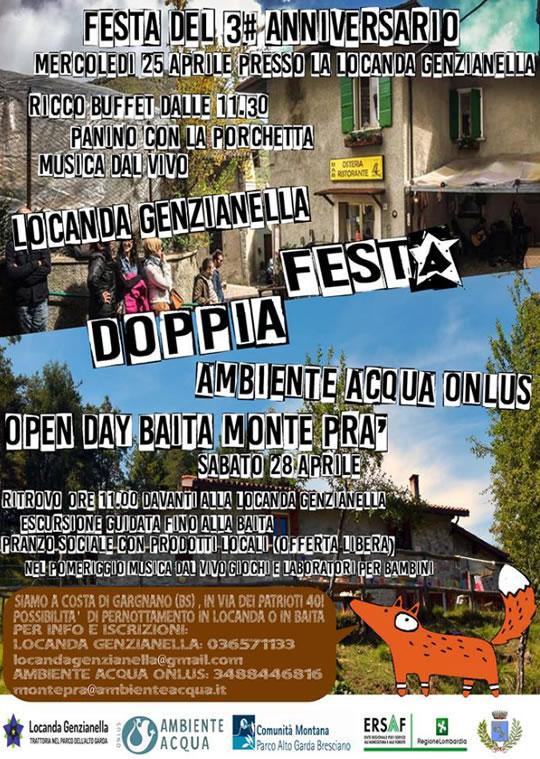 Festa Doppia a Costa di Gargnano