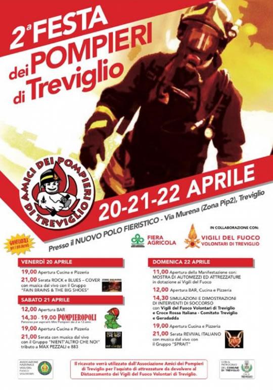 Festa dei Pompieri di Treviglio