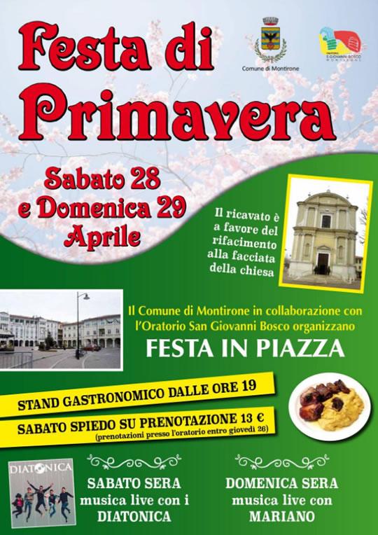 Festa di Primavera a Montirone