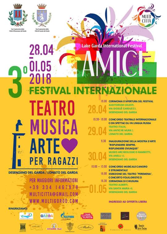 Festival Internazionale Amici a Desenzano
