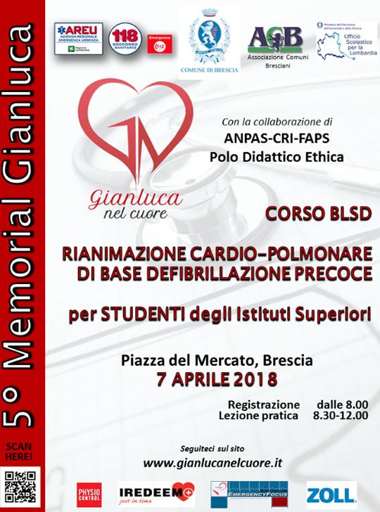 Gianluca nel cuore a Brescia