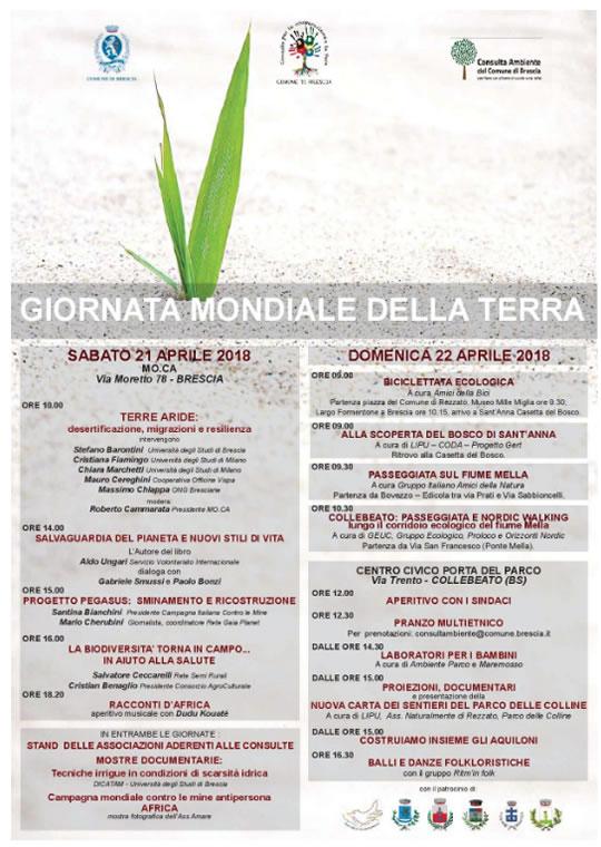 Giornata Mondiale della Terra a Brescia