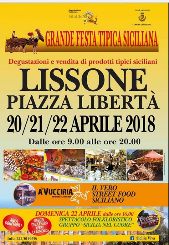 Grande Festa Tipica Siciliana a Lissone