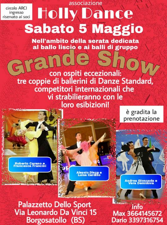 Grande Show danzante a Borgosatollo