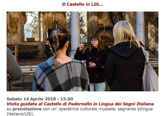 Il Castello in LIS a Padernello