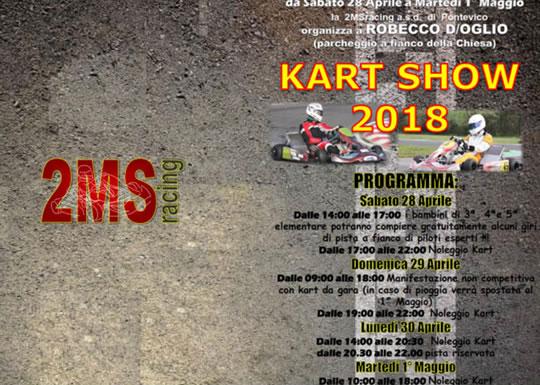 Kart Show a Robecco D'Oglio