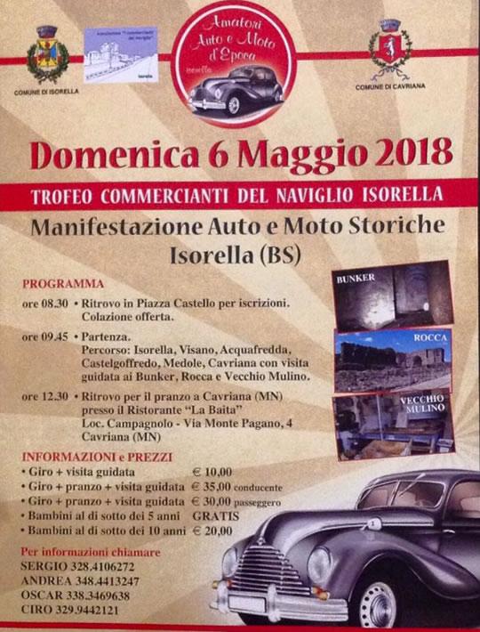 Manifestazione Auto e Moto Storiche a Isorella
