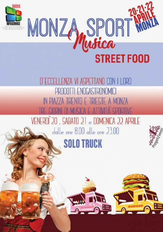 Monza Sport Musica Street Food
