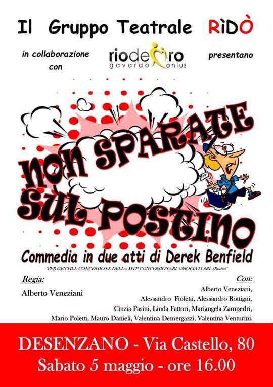 Non Sparate sul Postino a Desenzano