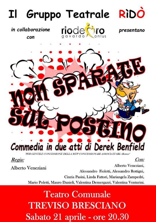 Non Sparate sul Postino a Treviso Bresciano
