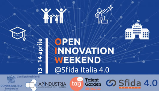 Open Innovation Weekend a Brescia