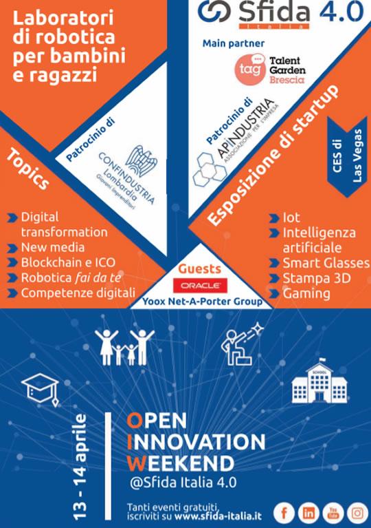 Open Innovation Weekend a Flero