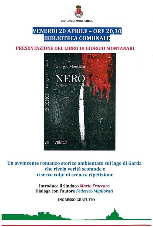 Presentazione Libro di Giorgio Montanari a Montichiari