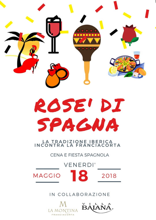 Rosè di Spagna a Monticelli Brusati
